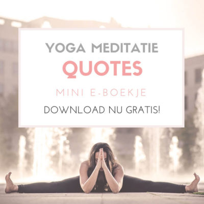 yoga quotes, meditatie quotes mini eboekje ingspire