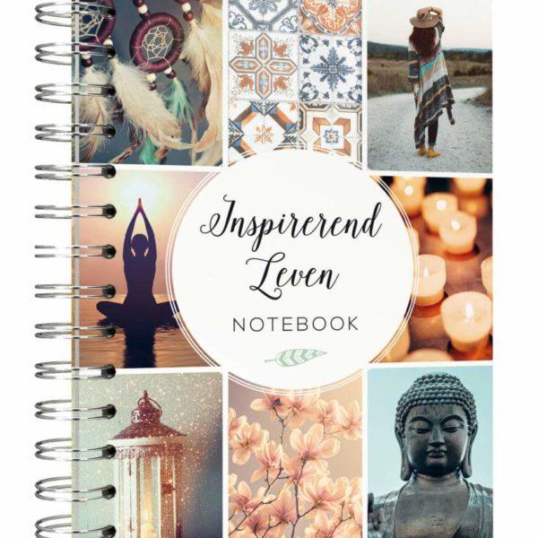 Notebook Inspirerend Leven met handige lijstjes en mooie quotes, ook van Ingspire