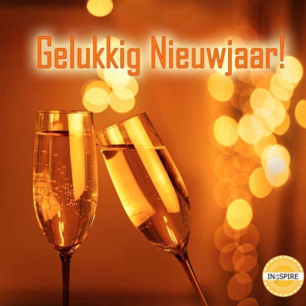nieuwjaar wenskaart spreuk