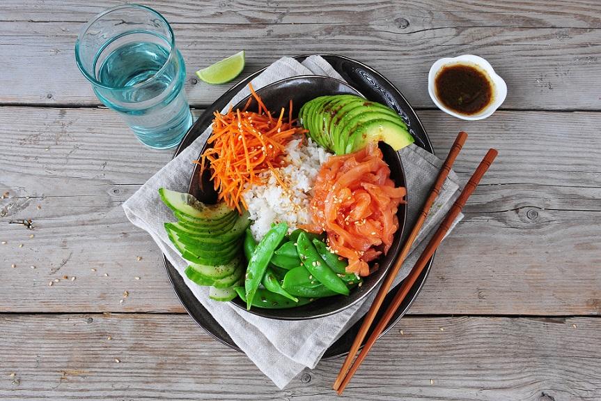 ZEN in de keuken: Sushi bowl, gezond en geïnspireerd koken Mathijs Vrieze maaltijdboxen en ingspire